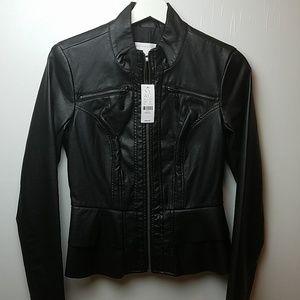 New York & Company - Peplum Moto Jacket - NWT